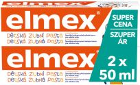 ELMEX Kids duopack 2x50 ml Pasta do zębów