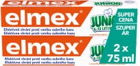ELMEX Junior duopack 2x75 ml Zubní pasta