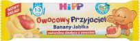 HIPP BIO Owocowy Przyjaciel Banany-Jabłka Owocowy batonik dla małych dzieci (1-3 lata) 25 g