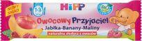 HIPP BIO Owocowy Przyjaciel Jabłka-Banany-Maliny Owocowy batonik dla małych dzieci (1-3 lata) 25 g