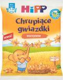 HIPP BIO Chrupiące gwiazdki warzywne dla małych dzieci (1-3 lata) 30 g