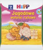 HIPP Jagodowe wafelki ryżowe BIO 30g