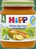 HIPP Młoda marchew z ziemniakami BIO (125g)