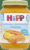 HIPP Marchewka z ziemniaczkami i łososiem (190g)