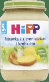 HIPP Potrawka z ziemniaczkami i królikiem (190g)
