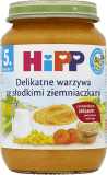 HIPP Delikatne warzywa ze słodkimi ziemniaczkami BIO (190g)