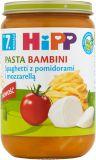 HIPP BIO Pasta Bambini Spaghetti z pomidorami i mozzarellą (7m+) 220 g