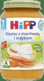 HIPP Risotto z marchewką i indykiem BIO (220g)