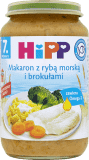 HIPP Makaron z rybą morską i brokułami (220g)