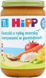 HIPP Kluseczki z rybą morską i warzywami w pomidorach (11m+) 220 g