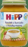HIPP Rosołek z kurczaka z kaszką manną BIO (190g)