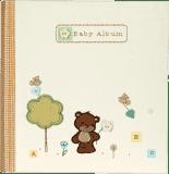 FOTOALBUM Natural Baby pre 144 fotografií 10x15 cm