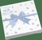 FOTOALBUM niebieski BABY NURSERY na 200 fotografii 10 x 15 cm (edycja specjalna)