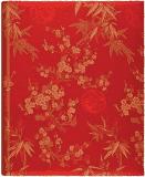 FOTOALBUM červený Blossom – luxusný samolepiaci album