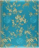 FOTOALBUM modré Blossom – luxusní samolepící album