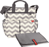 SKIP HOP Torba do przewijania Duo Signature chevron