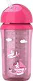 AVENT Hrneček s brčkem termo IZO 260 ml růžový