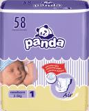 BELLA PANDA Newborn 58 ks (2-5 kg) - jednorázové plienky