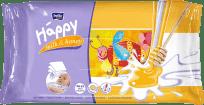 BELLA HAPPY BABY Vlhčené obrúsky mlieko a med 64 ks
