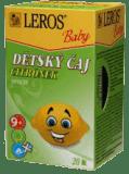 LEROS BABY dětský čaj Citrónek 20x2g