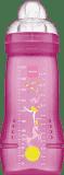MAM Baby Bottle - Fľaša + cumlík veľ.3, 330ml ružová - náhodný motív