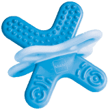 MAM Hryzátko Bite and Relax (fáza 2) modrá - náhodný motív