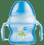 MAM Starter cup - kubek niekapek 150 ml, niebieski - losowy motyw