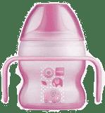 MAM Starter cup - kubek niekapek 150 ml, różowy - losowy motyw