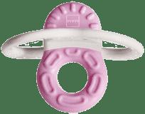 MAM Kousátko Bite and Relax (fáze 1) růžové – náhodný motiv