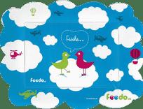 FEEDO Magnetický rámček - Vtáčiky
