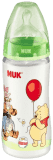 NUK First Choice láhev Disney PP, 300 ml, silikon (0 - 6 m), M – zelená