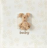 FOTO Elegancki dziecięcy album fotograficzny Plush Baby z miejsce na opis,10x15/160 fotografii