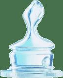 NUK Silikonová savička na mléko M (6-18 m)