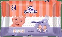 BELLA PANDA vlhčené obrúsky 64 ks