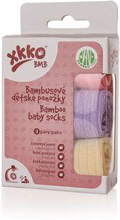 KIKKO BMB Bambusové ponožky Pastels pro dívky d342aa643e