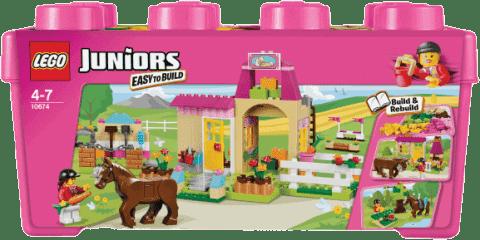 LEGO® Juniors Pony farm (farma z kucykiem)