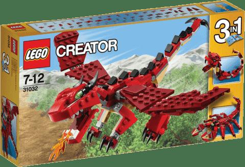 LEGO® CREATOR Červené príšery