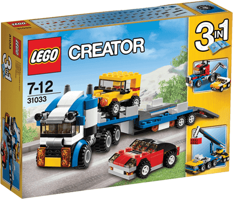 LEGO® Creator TIR do transportu aut
