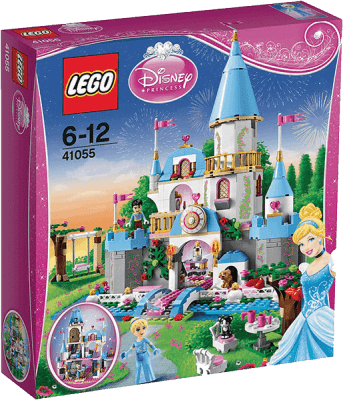 LEGO® DISNEY PRINCESS™ Romantyczny zamek Kopciuszka