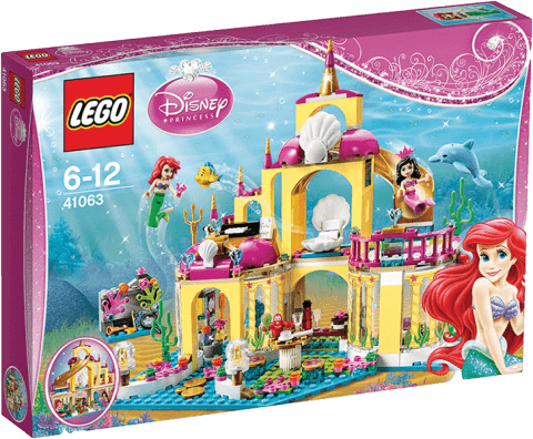 LEGO® DISNEY PRINCESS™ Arielin podvodný palác