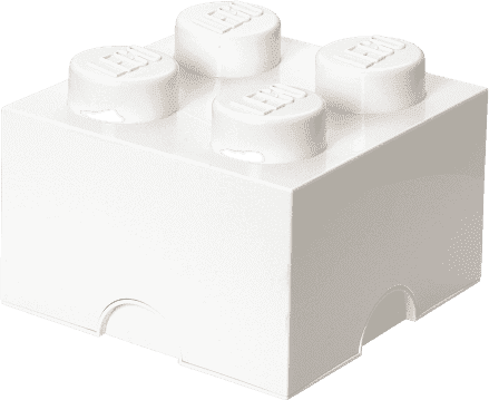 LEGO® Box do przechowywania rozmiar 3 biały