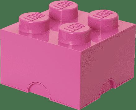 LEGO® Box do przechowywania rozmiar 3 jasnoróżówy