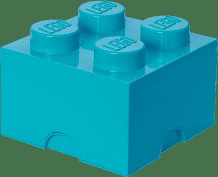 LEGO® Úložný box velikost 3 azurová