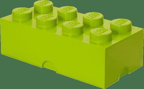 LEGO® Úložný box velikost 4 světle zelená