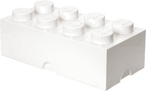 LEGO® Úložný box velikost 4 bílá