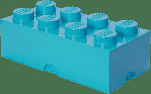 LEGO® Úložný box velikost 4 azurová