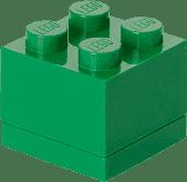 LEGO® Mini Box, tmavě zelená