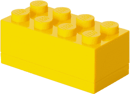 LEGO® Mini Box, žlutá
