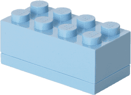 LEGO® Mini Box, jasnoniebieski