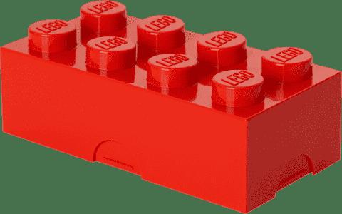 LEGO® Pudełko śniadaniowe, czerwone